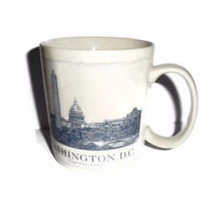 Starbucks City Mug Coffee Washington DC 2007 18 oz